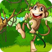 丛林猴子: 猴子跳跃