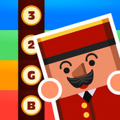 儿童教育游戏 - 疯狂电梯管理员 8