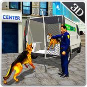 警犬运输卡车和小型货车的车程 1