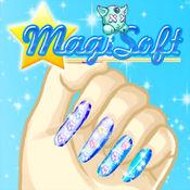 星女神指甲