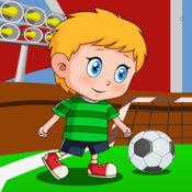 大儿子踢足球-踢足球弹射爆西瓜