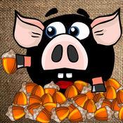 会飞的猪头 - 物理解谜贪吃游戏