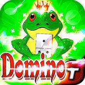 多米诺骨牌 Roller Pad King Frog 多米诺骨牌 Dominoes Game