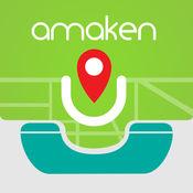 ِAmaken-在地图上查找电话号码的朋友的位置 1.1