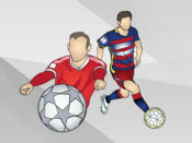 足球贴纸 1