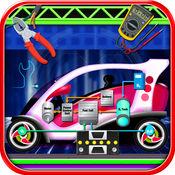 电动汽车维修车间 - 汽车机械 1