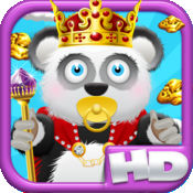 熊猫宝宝熊淘金王国HD战役 - 城堡跳转版免费游戏! Baby Panda Bears Battle of The Gold Rush Kingdom HD - A Castle Jump Edition FREE Game!
