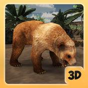 熊模拟器 - 捕食者狩猎游戏