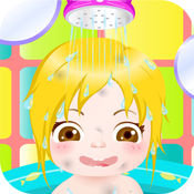 快乐宝宝洗澡HD - 最热的婴儿护理及沐浴游戏的女孩和女孩!