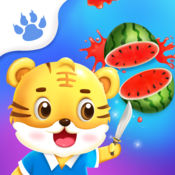 宝宝切水果 - 小虎学堂 - 儿童早教游戏多多