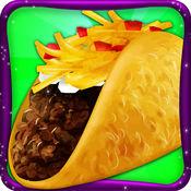 墨西哥炸玉米饼烹调快餐厨师