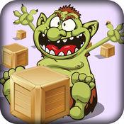 饥饿的巨魔入侵 - 快速采集游戏的孩子 免费 1