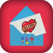 A¹ M 明信片机和照片库设计快乐的母亲节,从贺卡店