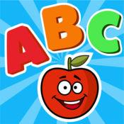 字母ABC闪卡孩子游戏免费 - 有趣的互动游戏为幼儿,宝宝和男孩学习应用程序