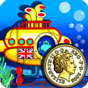 Amazing Coin(GBP£): money learning  counting game for kids宝宝学英镑