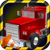 3D卡车停车模拟器 - 推动大型货车与在这个模拟游戏停放