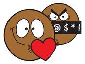 Ochat:布朗笑脸的表情符号和贴纸的iMessage