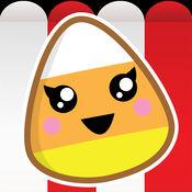 玉米花爆炸的比赛-乐趣孩子的难题比赛