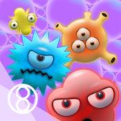 肥皂泡对抗病菌 6