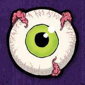 装点您的照片与有趣的卡通怪物