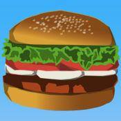 飞的汉堡包!