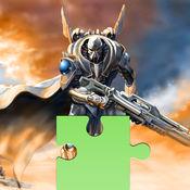 英雄机器人拼图图片HD 2合1