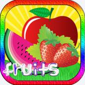 水果 字 游戏 内存 嬰兒遊戲 4 - 5 年 自由