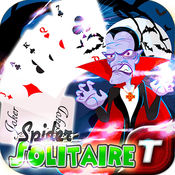 免费蜘蛛纸牌吸血鬼热捧 Vampire Blitz Season Haunted Fairway Halloween Saga Monster Classic Fever Spider Solitaire Free HD - Witch Edition
