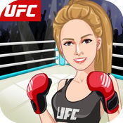 女子拳击比赛-化妆,打扮