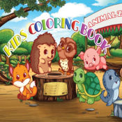 兒童圖畫書動物動物園 - 教育學習遊戲為孩子和幼兒