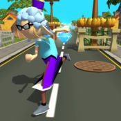 超级老奶奶疯狂跑:极限追逐乐趣