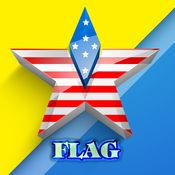 世界国旗问答游戏的孩子