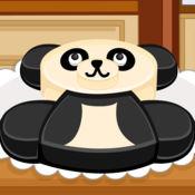 阿Sue做熊猫蛋糕 1
