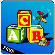 基本技能和字母拼读A到Z - 词典:学习游戏为孩子和幼儿。 1.