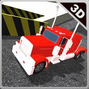 多层卡车停放和驾驶3d模拟器 1