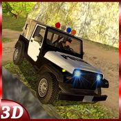 OffRoad 4x4警察吉普司机 - 3D停车场