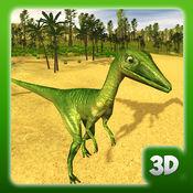 恐龙模拟器 - 野猫斗斗游戏 1