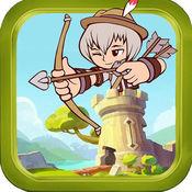保卫城堡-弓箭手射杀敌人