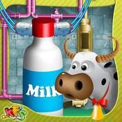 牛奶厂 - 让牛奶这种烹饪模拟器游戏和提供它到店