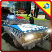 警方监狱长速度蔡斯 - 交通警察模拟器 1