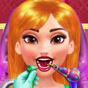 美丽公主看牙医