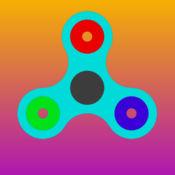 指尖陀螺(Fidget Spinner): 手指螺旋减压舒缓焦虑小游戏