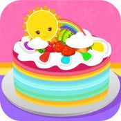 超级彩虹蛋糕