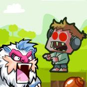 殭屍英雄 可跳到其樂無窮孩子遊戲