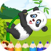 熊猫图画书 - 可爱的漫画艺术的想法为孩子