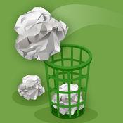 办公室休闲游戏-扔废纸团