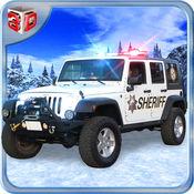 越野警察吉普模拟器和警察驾驶游戏