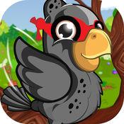 软盘饿忍者鸟 - 有趣的益智游戏喂食 免费 1