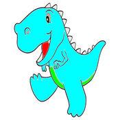 兒童圖畫書 - 可愛的卡通恐龍1