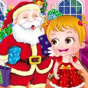 可爱宝宝过圣诞...